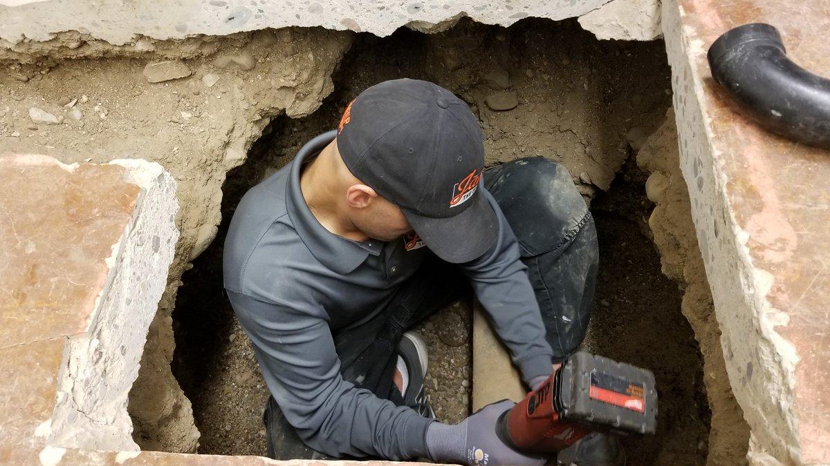 Jake Rough-In Plumbing