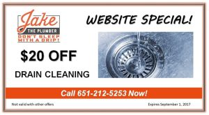 plumbing st paul mn drain cleaning summer 2017 coupon