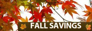 Fall Savings at Jake the Plumber - St. Paul Minnesota